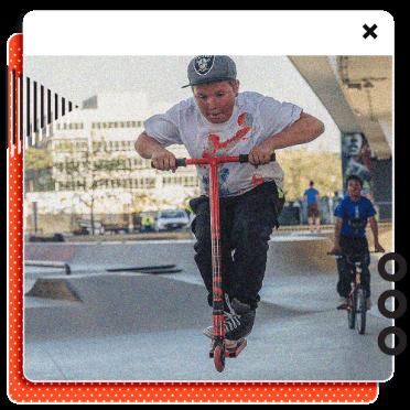 Demuestra tus habilidades y gana un patinete.